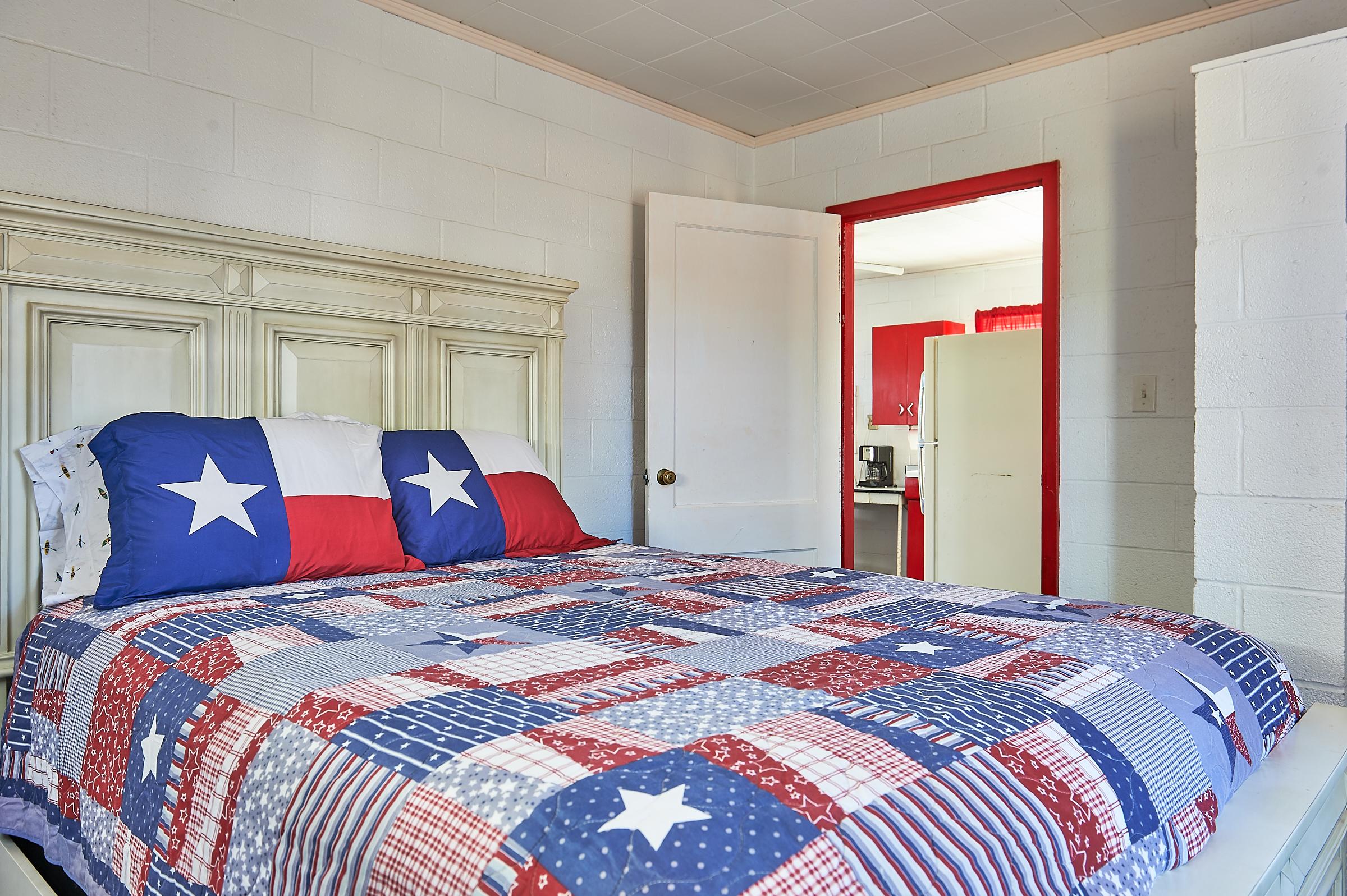 Enchanted Rock Cabin Themed Bedroom