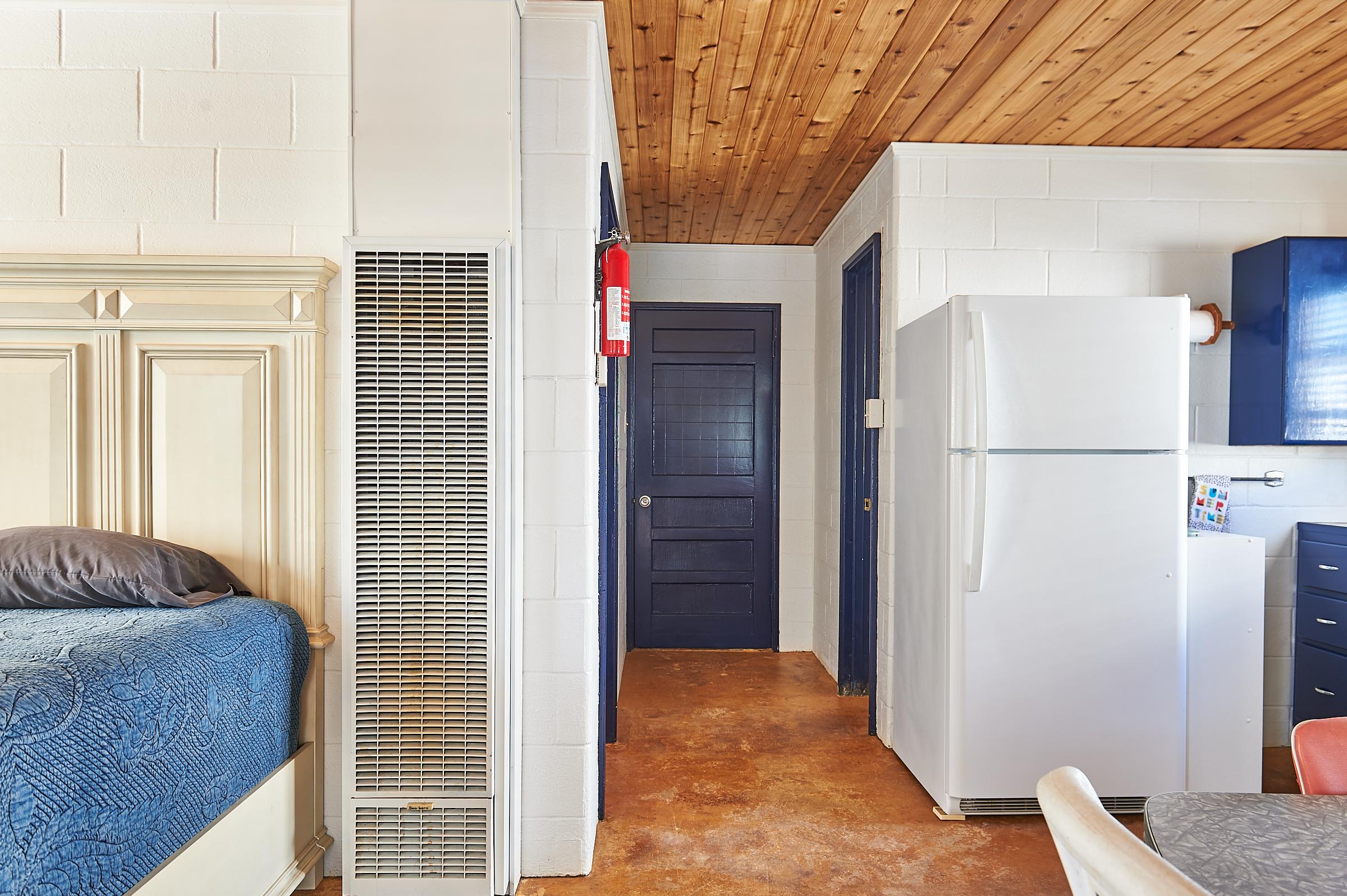 Packsaddle Mountain Cabin Interior Entry Door