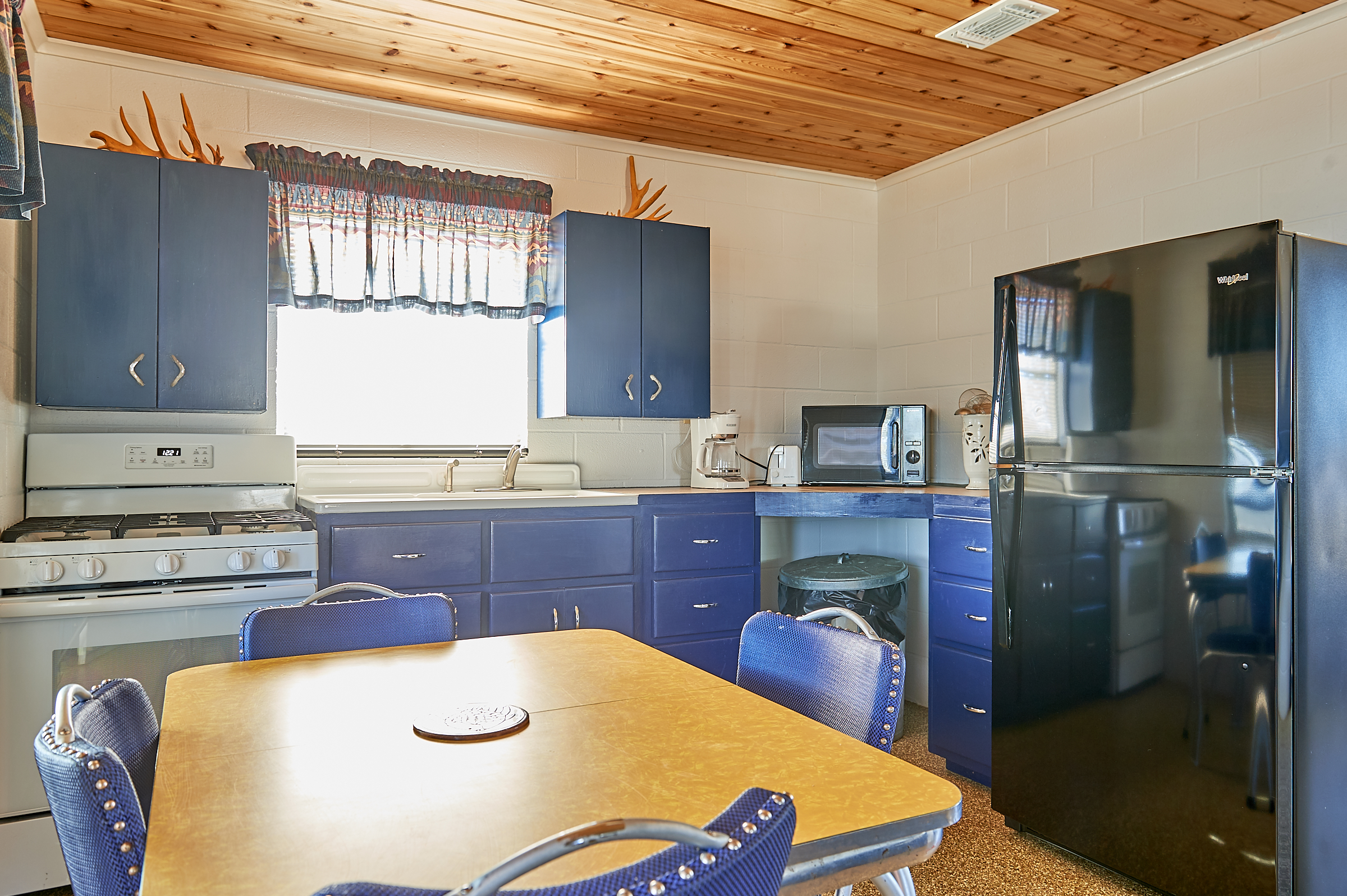 Whitetail Deer Cabin Kitchen